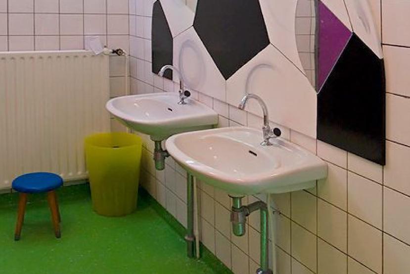 Diepe kleur keramische toilet wc gepolijst marmer tegel gw